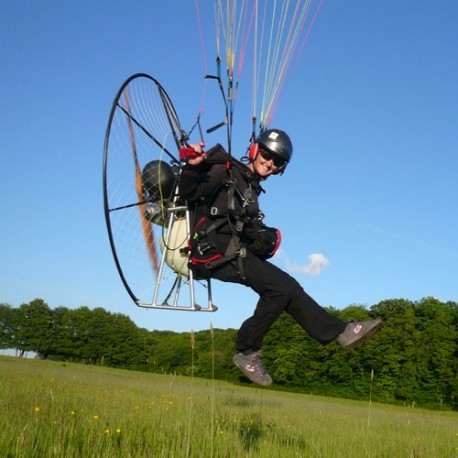 Session practical assessment for the Paramotor license