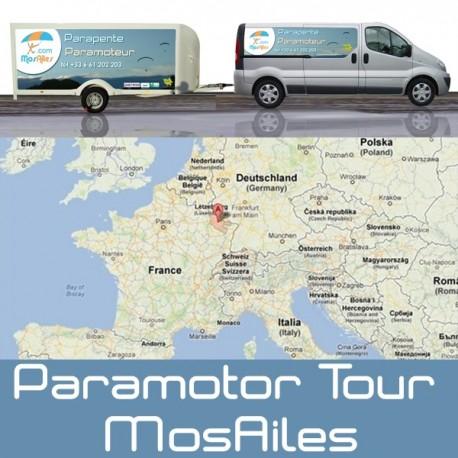 Aventure Coupe Icare en Paramoteur septembre 2015