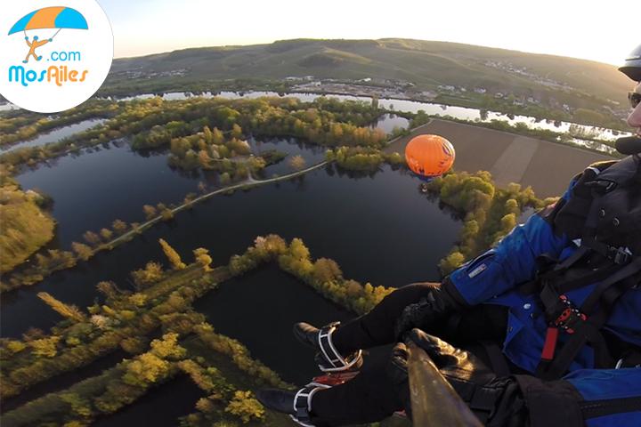 Vol au-dessus de la Moselle