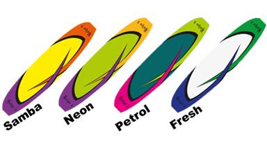 Planche de couleurs du parapente itv dolpo 3