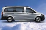 Comfortable 8-9 seater minibus