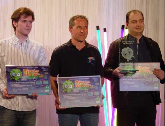 Lauréats du concours des meilleurs sites internet de la Moselle
